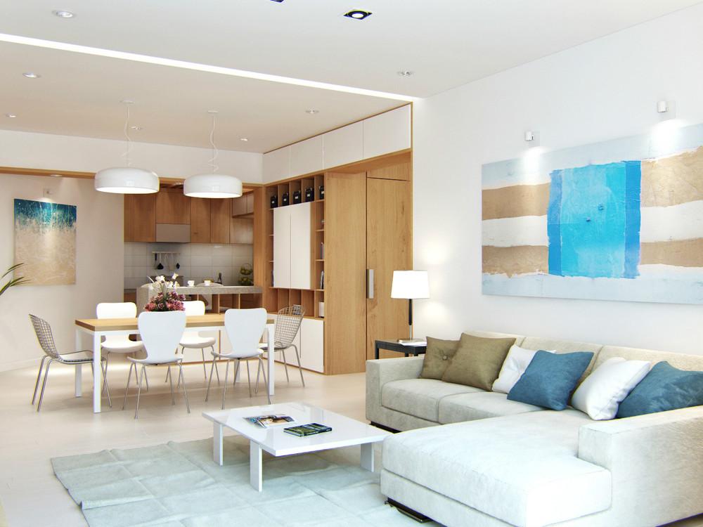 1 white lounge