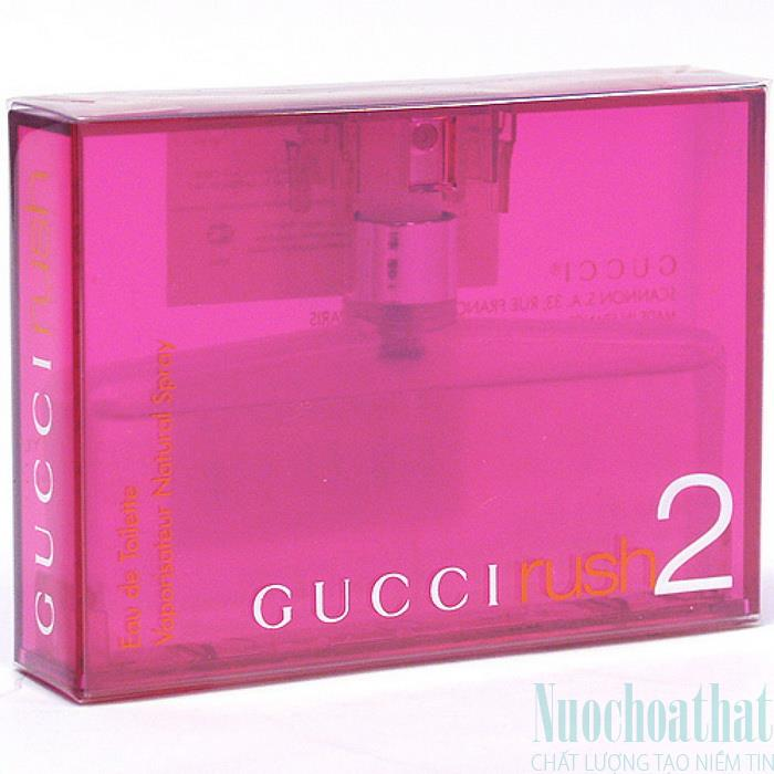 Gucci Rush II Eau de Toillete...