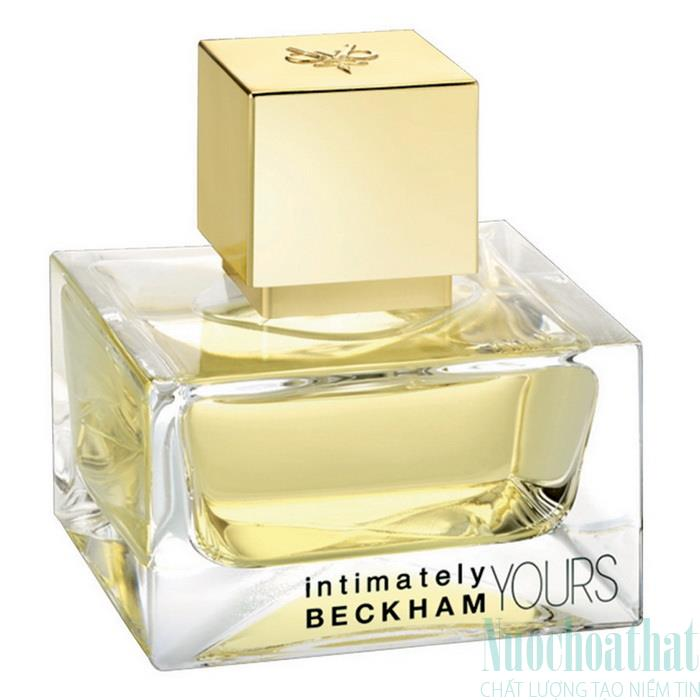 David & Victoria Beckham Intimately Yours...