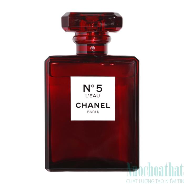 Chanel N°5 L'eau Red Eau de...