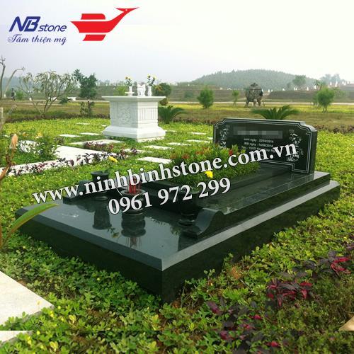 Mẫu Mộ Đá Không Mái NB-MĐKM021
