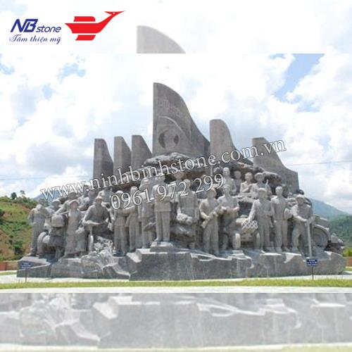 Tượng đài đá NBS-TDD04