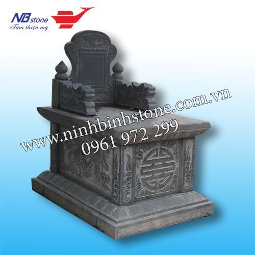 Mẫu Mộ Đá Không Mái NB-MĐKM025