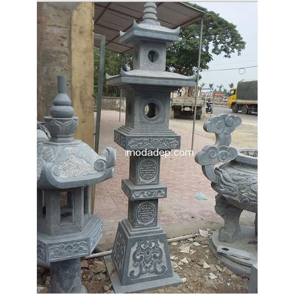 Đèn đá đình chùa 04
