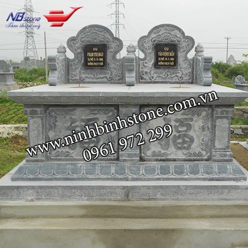 Mẫu Mộ Đá Đôi NBS-MDD05