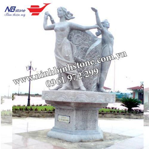 Tượng đài đá NBS-TDD09