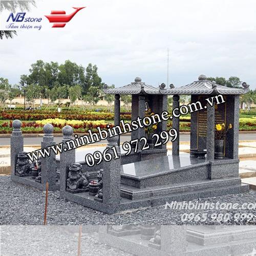 Mẫu Mộ Đá Đôi NBS-MDD09