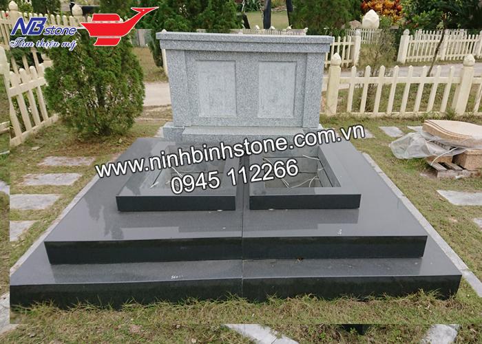 Mộ ốp đá hoa cương NBS-HC053