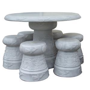 Bộ ghế đá ngoài trời