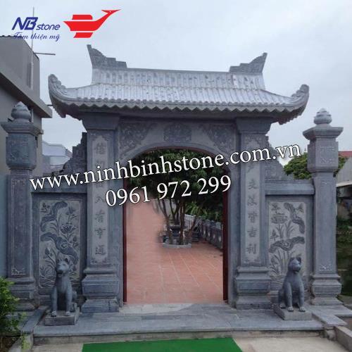 Cổng Tam Quan Đá NBS-CNTD01