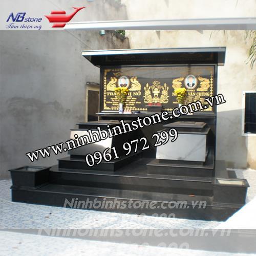 Mẫu Mộ Đá Đôi NBS-MDD22