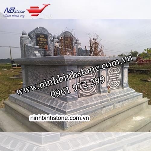Mẫu Mộ Đá Đôi NBS-MDD24