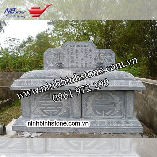 Mẫu Mộ Đá Đôi NBS-MDD25