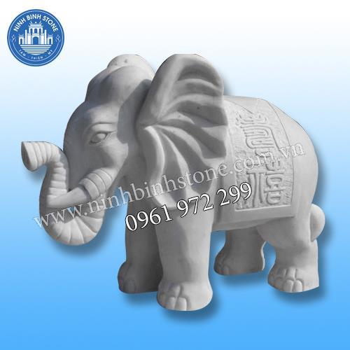 Tượng voi đá 016