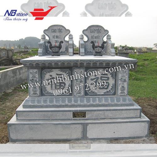 Mẫu Mộ Đá Đôi NBS-MDD31