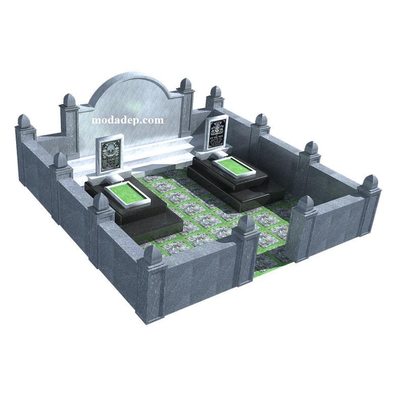 Thiết kế lăng mộ đá S250