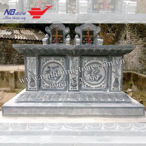 Mẫu Mộ Đá Đôi NBS-MDD33