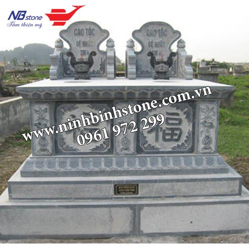 Mẫu Mộ Đá Đôi NBS-MDD39