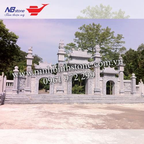 Cổng Tam Quan Đá NBS-CTQ01
