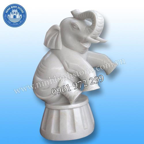 Tượng voi đá 021