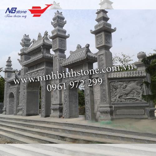 Cổng Tam Quan Đá NBS-CTQ02