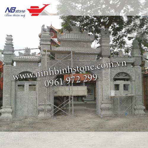 Cổng Tam Quan Đá NBS-CTQ03