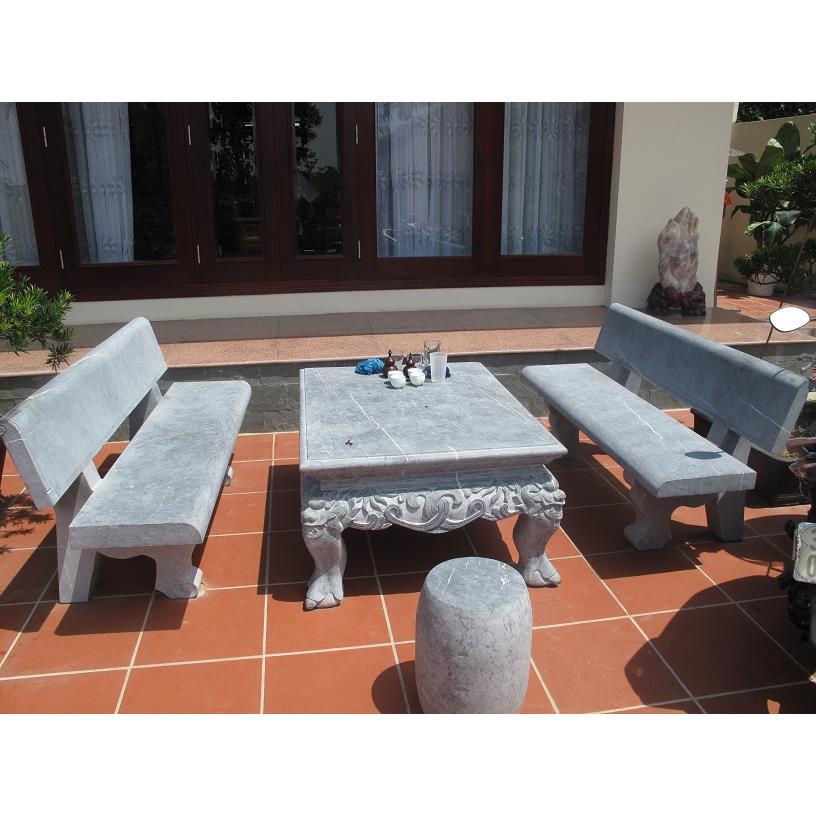 Bộ bàn ghế đá 10