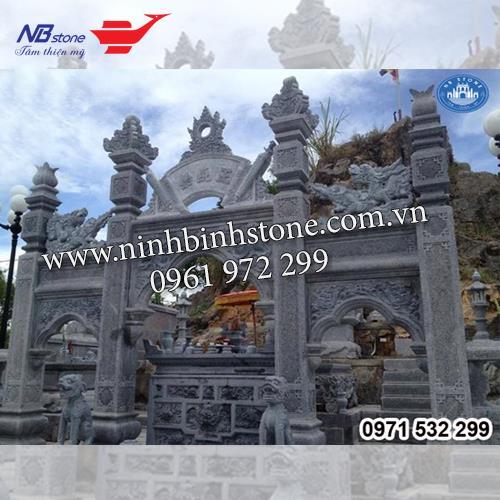 Cổng Tam Quan Đá NBS-CTQ04