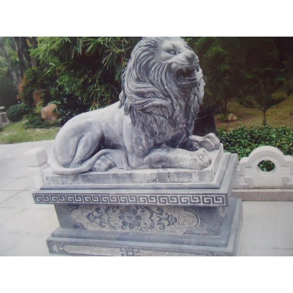 Sư tử đá nằm