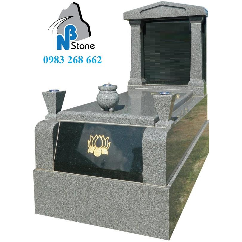 Mộ đá granite mã 04D