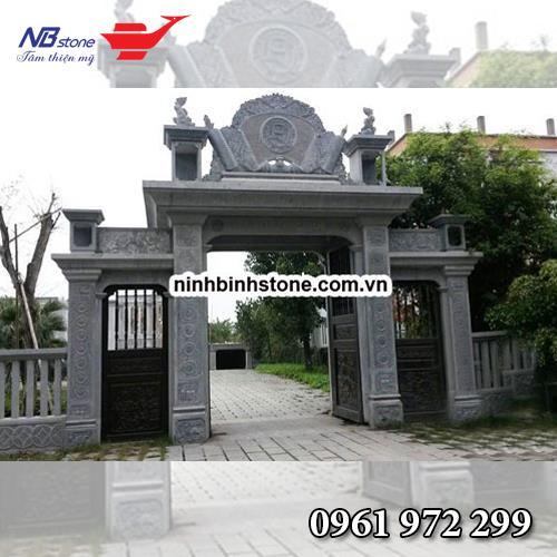 Cổng Tam Quan Đá NBS-CTQ08