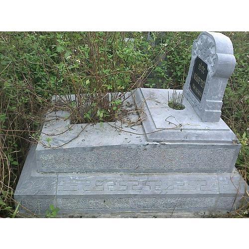 Mẫu mộ đá không mái đẹp NB-MDKM 33
