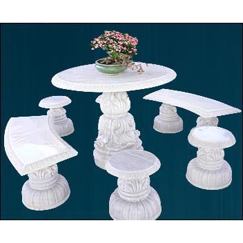 Bộ bàn ghế đá nghệ thuật
