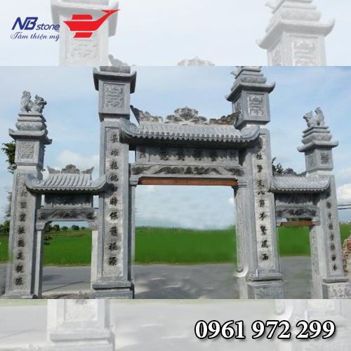 Cổng Tam Quan Đá NBS-CTQ09