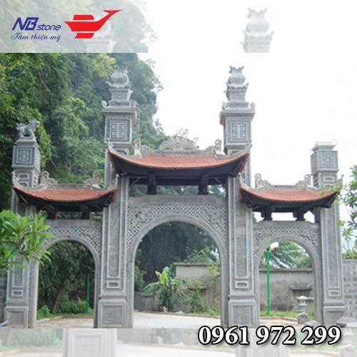 Cổng Tam Quan Đá NBS-CTQ10