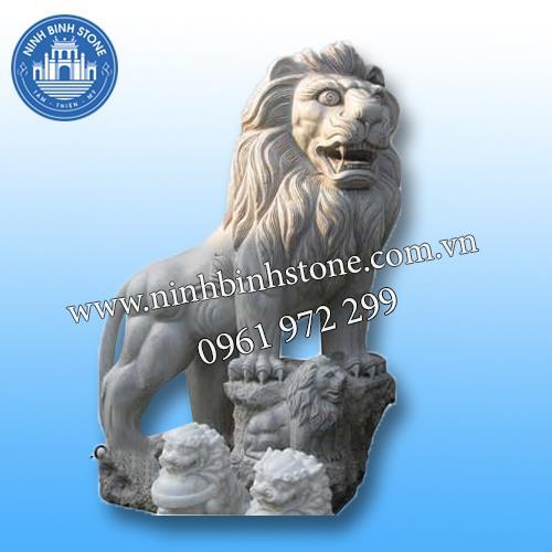 Sư tử đá 015