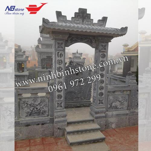 Cổng Tam Quan Đá NBS-CTQ12