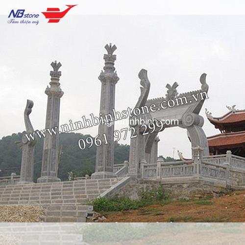 Cổng Tam Quan Đá NBS-CTQ13