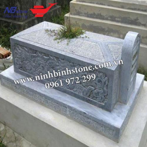Mẫu Mộ Đá Không Mái NB-MĐKM004