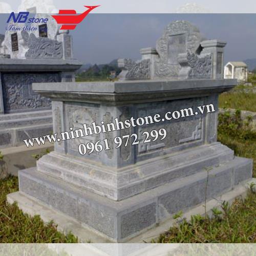 Mẫu Mộ Đá Không Mái NB-MĐKM007