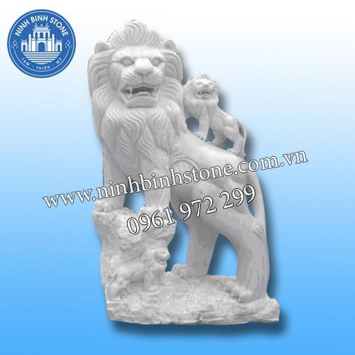 Sư tử đá 018