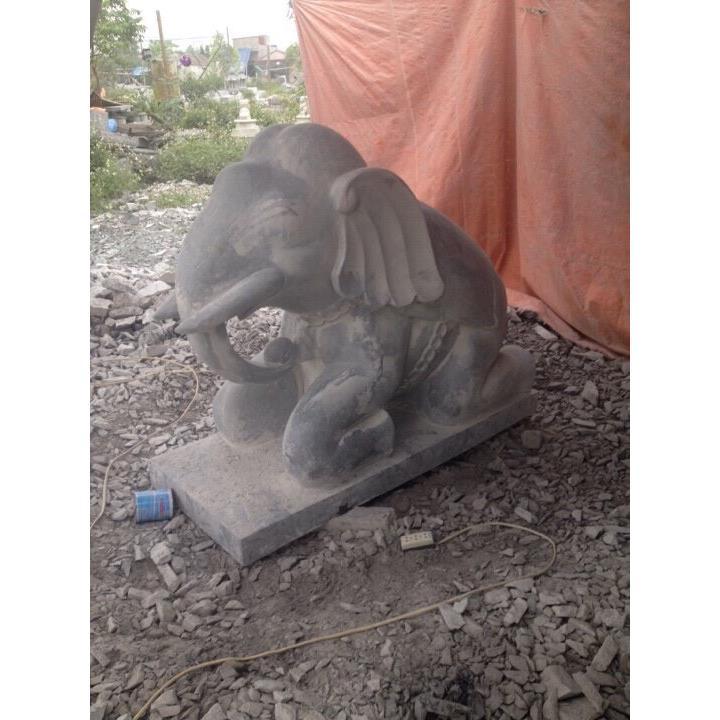 Tượng voi đá 09