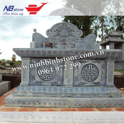 Mẫu Mộ Đá Không Mái NB-MĐKM009