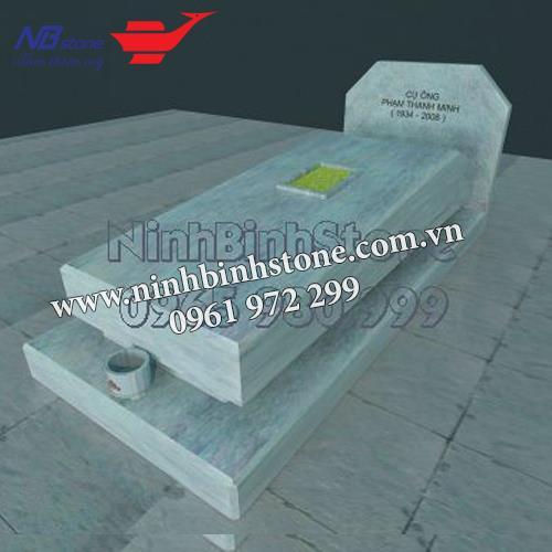 Mẫu Mộ Đá Không Mái NB-MĐKM011