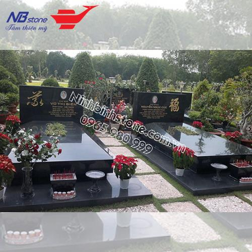 Mẫu Mộ Đá Không Mái NB-MĐKM013