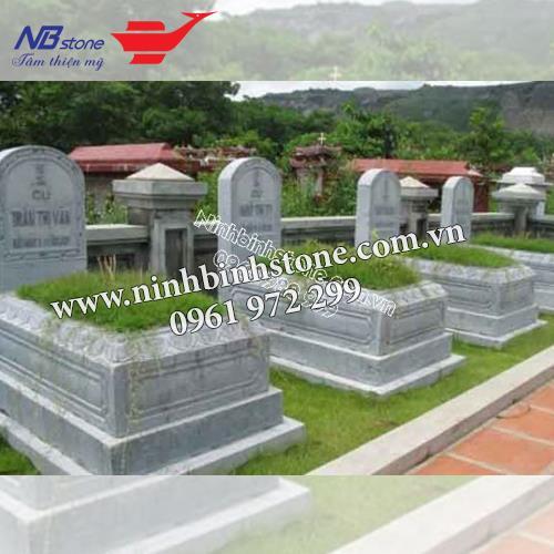 Mẫu Mộ Đá Không Mái NB-MĐKM015
