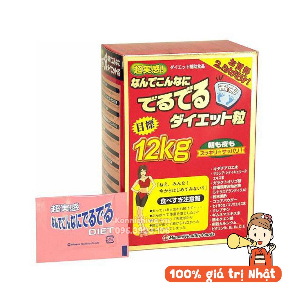 vien-uong-giam-can-minami-deru-deru-diet-12kg-90g