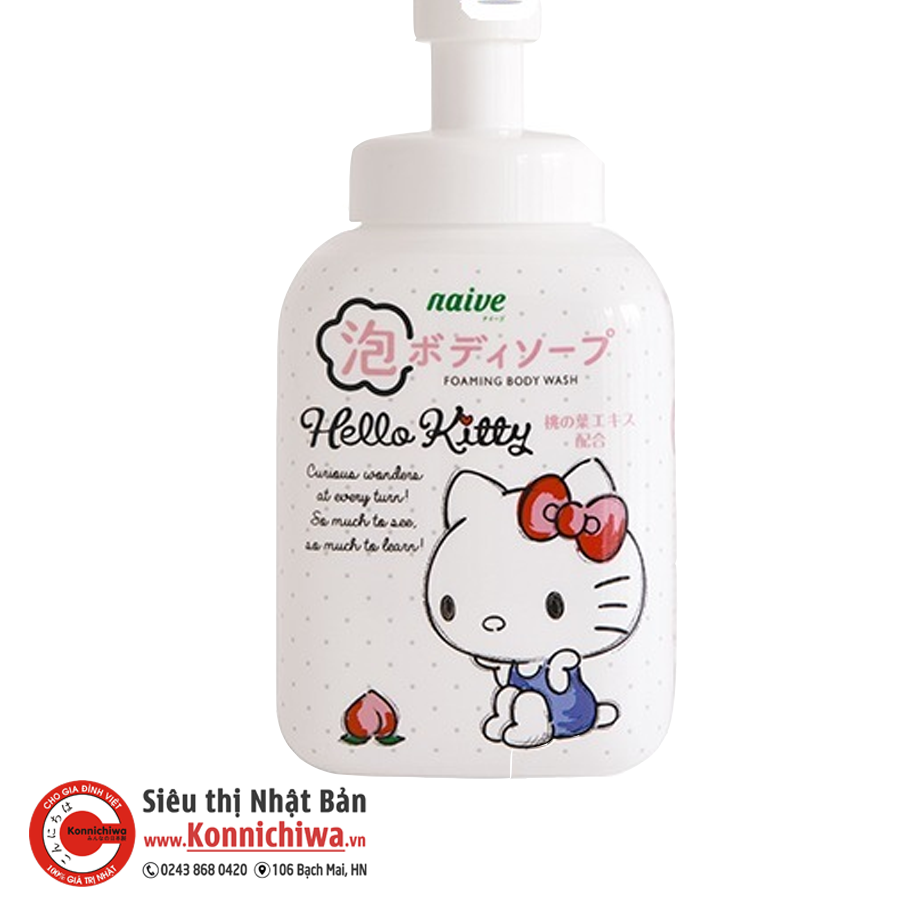 sua-tam-naive-hello-kitty-chai-500ml