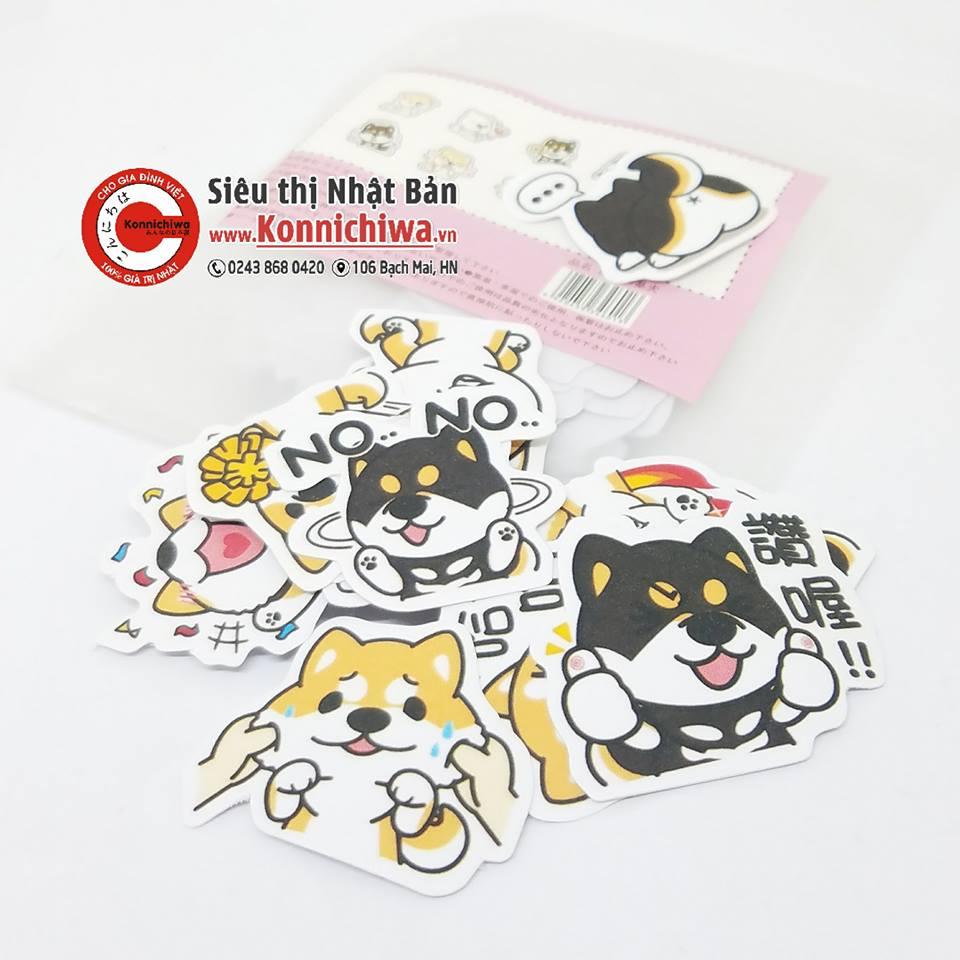sticker-chu-cho-kamio-set-38-mieng