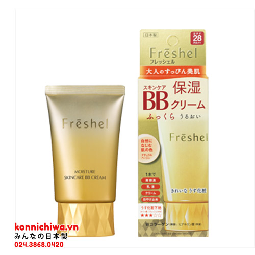 kem-trang-diem-bb-cream-kanebo-freshel-uv-spf-28pa